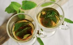 thé,verre,aliments,herbe,produire,boisson