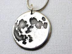Moon Pendant by Lorinda3LJewelry on Etsy, $75.00