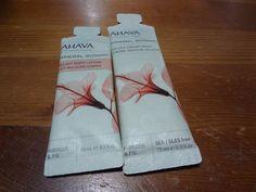 Ahava Mineral Botanic Velvet Body Lotion  +  Velvet Cream Wash Sample  #AHAVA