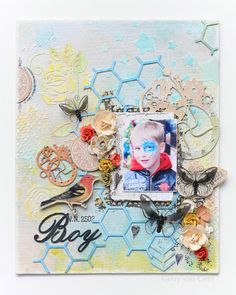 Lindy's Stamp Gang Mixed Media @GerryvanGent