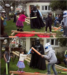 This is what I should have done for cody's birthday party!! ;)