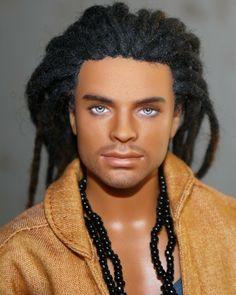 Barbie Made To Move, Barbie And Ken, Beautiful Barbie Dolls, Pretty Dolls, Barbie Fashion Royalty, Fashion Dolls, Ken Doll, Bjd Dolls, African American Dolls