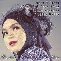 Meet & Greet album Unplugged @ctdk hari sabtu ini di  Plaza Angsana JB. Kpd peminat2 @ctdk di Johor jangan lupa datang dan menyokong pembelian album yg original. #unplugged #meetngreet #DatoSitiNurhaliza jumpa disana !!