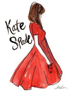 Kate Spade // Illustration