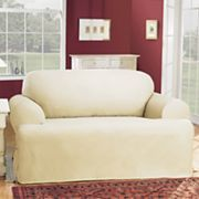 cotton duck tcushion loveseat slipcovers