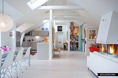 Spacious Apartment in Stockholm // Via Per Jansson | Afflante.com