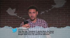 Klay Thompson from Celebrity Mean Tweets From Jimmy Kimmel Live!