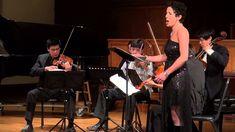 Ann Moss and The Hausmann Quartet: String Quartet #2 Opus 10 (Arnold Sch...
