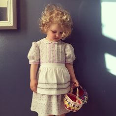I used to have a dress like this as a little girl