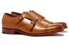 Ellery - Double Monk - Brown - Bonobos Mens Shoes