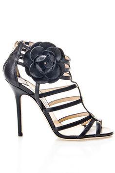 @Jimmy Choo Opulence Sandals In Black - Beyond the Rack