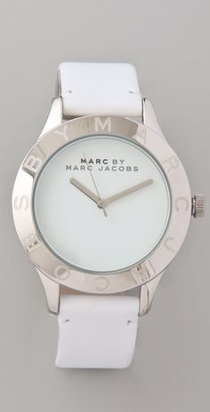 Marc By Marc Jacobs Blade Etched Logo Watch thestylecure.com