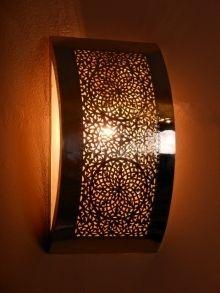 Deco Maroc : Appliques murales marocaines en métal, Appliques luminaire  Tip...