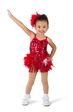 """Red sequin mesh over red spandex leotard with keyhole back detail and adjustable straps. Separate white tricot tutu AND sequin fringe with boa back skirt. Rosette, glitter ribbon, and sequin trim. Boa headpiece included.   ACCESSORIES: 8131 Large """"Diamond"""" Tiara; #dancecostumes #firstrecital #costumegallery #dancecompetition #ballerina #babyballerina #tutu #tots Dance Recital Costumes, Cute Dance Costumes, Baby Ballerina, Reborn Toddler Dolls, Dance It Out, Dancing Baby, Tiny Dancer, Costume Design, Headpiece"""
