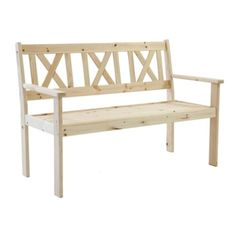 Gartenbank Evje aus Holz Jetzt bestellen unter: https://moebel.ladendirekt.de/garten/gartenmoebel/gartenbaenke/?uid=60b5423f-6ff9-55e5-b191-f9a2cc54c06c&utm_source=pinterest&utm_medium=pin&utm_campaign=boards #patio #benches #garten #gartenbaenke #gartenmoebel