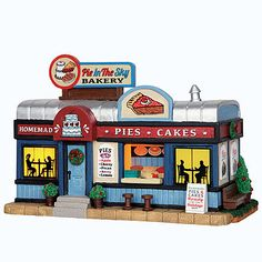 Coventry Cove by Lemax Christmas Village Building  Pie In The Sky Bakery