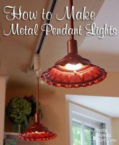 How to Make Metal Pendant Lights