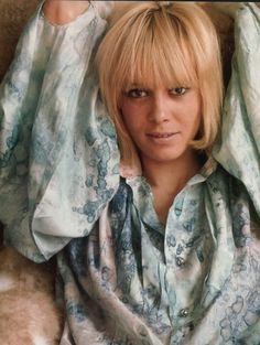 Anita Pallenberg  This month's style icon