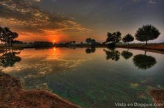 puesta sol hermosas
