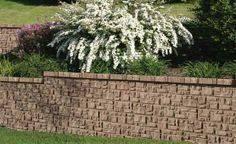 AB Fieldstone Retaining Wall - Colonial Series