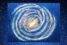 Learn about our Milky Way galaxy by hands on art and glitter fun.  Great for families and school projects. Galaxies galore!