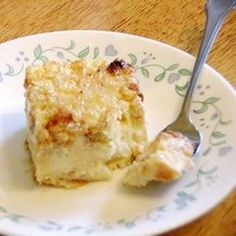 Rice Pudding Cake recipe - All recipes UK Rice Cake Recipes, Brownie Recipes, Casserole Recipes, Dessert Recipes, Pierogi Casserole, Sweet Desserts, Food Cakes, Rice Cakes, Baking Cakes