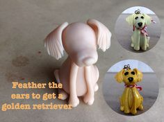 I have been working on polymer clay sculpted dog breeds. These make Pur-fect Christmas ornaments and I was going to post these for Christmas but I ran out of time. Polymer Clay Cat, Polymer Clay Ornaments, Polymer Clay Animals, Dog Ornaments, Christmas Ornaments, Clay Cats, Ornament Tutorial, Dog Crafts, Polymers