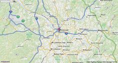 Pittsburgh, PA Map | MapQuest