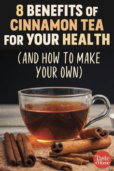 8 Benefits of Cinnamon Tea for Your Health (and How to Make Your Own) . 8 Benefits of Ci Cinnamon Tea Benefits, Carrot Benefits, Matcha Benefits, Strawberry Health Benefits, Coconut Health Benefits, Tea For Colds, Tomato Nutrition, For Your Health, Healthy Drinks