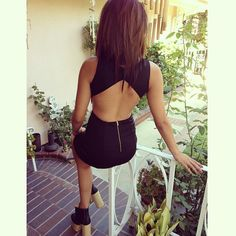 @sippinonjenn_ stuntin' and lookin' stunning in our Sassy Backless Bodycon Dress  $34! Shop for yours www.Gold-Soul.com #ootd#ootn