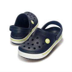 Shoes Crocs Navy Yellow