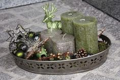Polly kreativ: 1. Advent -Adventskranz oder Adventsgesteck