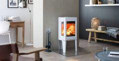 Jøtul F 163 dedykowany do domów o niskim zapotrzebowaniu energetycznym, jest przy tym jednym z najczystszych pieców na drewno na świecie