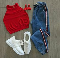 Teen fashion outfits - Fault of Fame – Teen fashion outfits Girls Fashion Clothes, Teen Fashion Outfits, Retro Outfits, Outfits For Teens, Preteen Fashion, Style Clothes, Fashion Fashion, Latest Fashion, Girl Outfits
