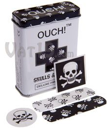 Skulls and Bones Bandages: 24 assorted jolly roger band aids Just In Case, Just For You, Ciel Nocturne, Jolly Roger, Skull And Crossbones, Skull And Bones, Skull Art, Skull Decor, Sugar Skull
