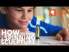 (22) How to Make a Spinning Homopolar Motor Sculpture - YouTube