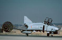 RF-4C Phamton II 12-61 Esc. 123 Ejército del Aire Español