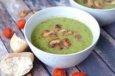 Broccoli courgette soep recept