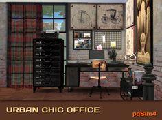pqSim4: Urban Chic Office.