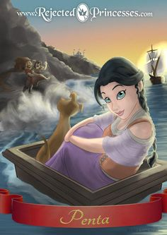 """Meet 12 """"Rejected Princesses"""" Who Are Too Badass For Disney 
