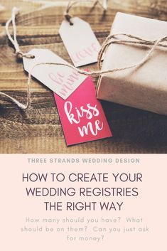 Wondering if you can just ask for money? How many registries should you have? Are those little cards for in your invitations? Learn proper wedding registry etiquette and how to get what you actually want! Wedding Etiquette, Wedding Vendors, Honeymoon Registry, Wedding Invitations Online, Photography Packaging, Pinterest For Business, Meaningful Gifts, Wedding Planning Tips, Wedding Website