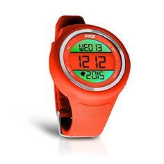 Pyle Go Sport Multi-Function Sports Training Watch (Stopwatch, Pedometer, Countdown Timer, Multi-Alarm, Daily Reminders), Orange >>> Check this awesome product by going to the link at the image.