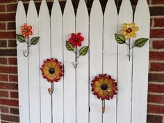 My neighbor designed this cool towel rack for their patio out by their pool.