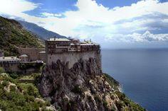 monastyr w Athos - Grecja