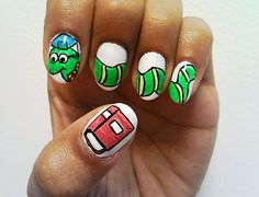 The Best Back-To-School Nail Art | MTV Style