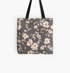 Large Bags, Small Bags, Cotton Tote Bags, Reusable Tote Bags, Designer Totes, Clematis, Medium Bags, Are You The One, Times