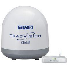 KVH TracVision TV5 w/Tri-Americas LNB - https://www.boatpartsforless.com/shop/kvh-tracvision-tv5-wtri-americas-lnb/