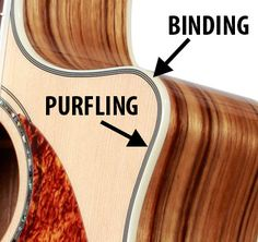 Acoustic Vocabulary: Binding, Purfling, Marquetry and Kerfing | Fender News & Tech Talk | Fender Guitar