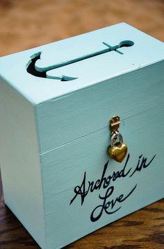Anchor card box