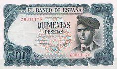 Jacinto Verdaguer. 500 pesetas